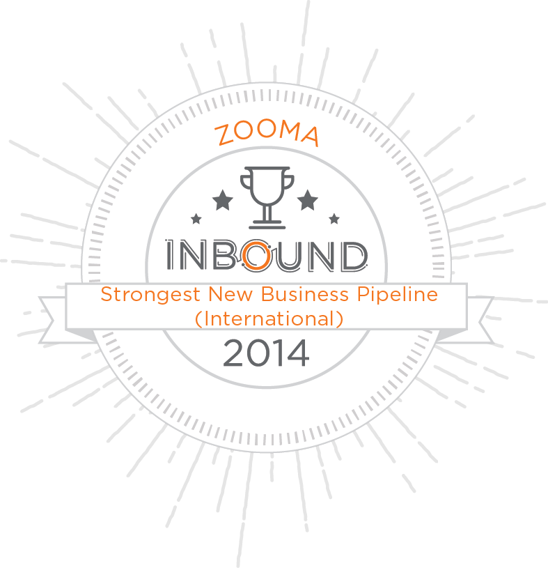 Thank You for the Inbound Marketing Award!