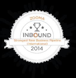 Zooma-HubSpot-Award-2014