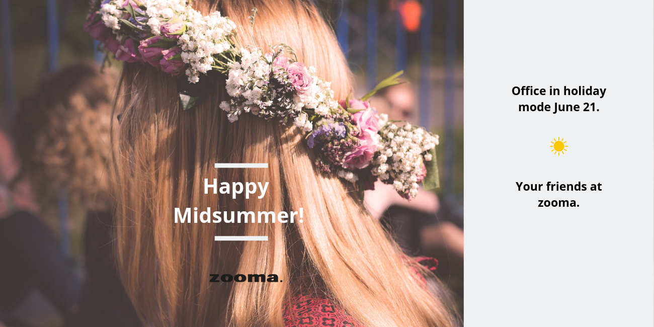 Have a beautiful Midsummer 2019!