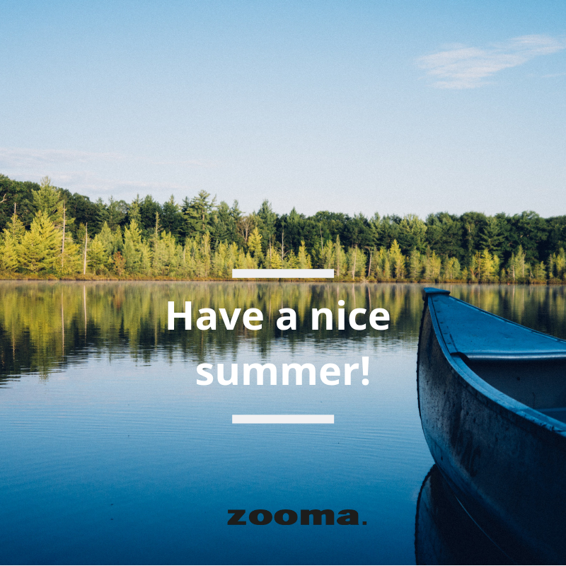 Have a nice summer 2019