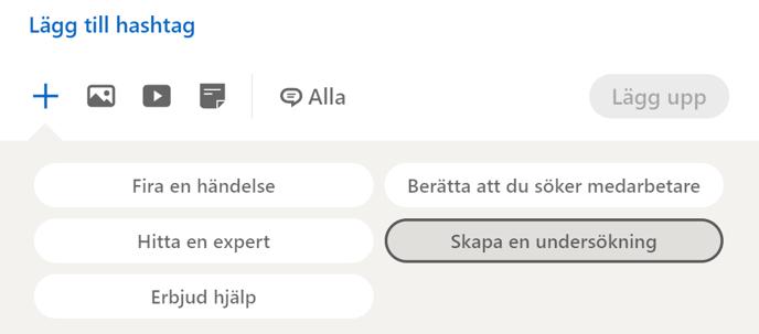 LinkedIn-undersökningsverktyg