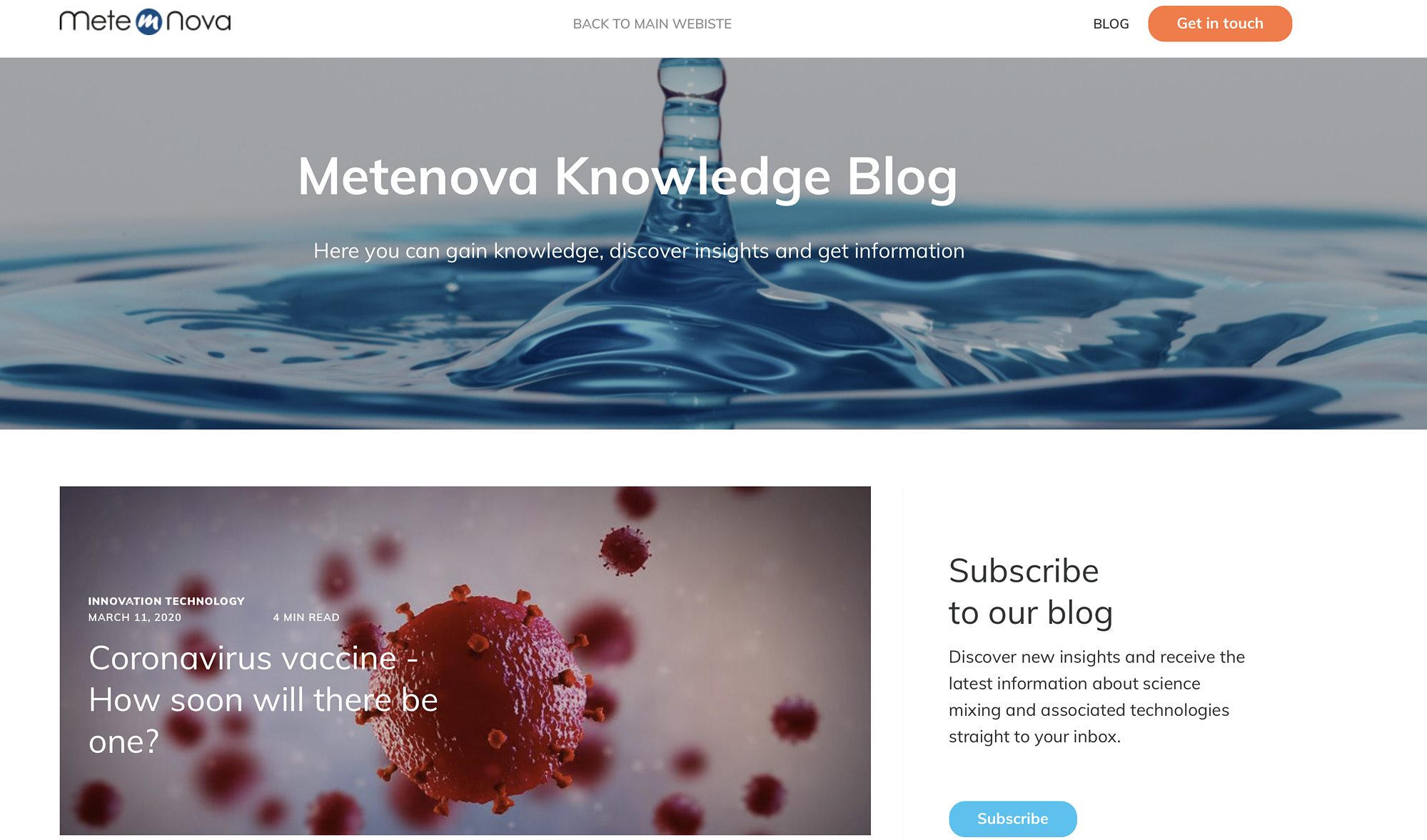 Congratulations, Metenova!