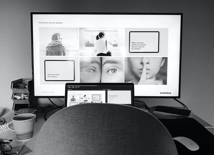 Online-närvaro och leadgenerering