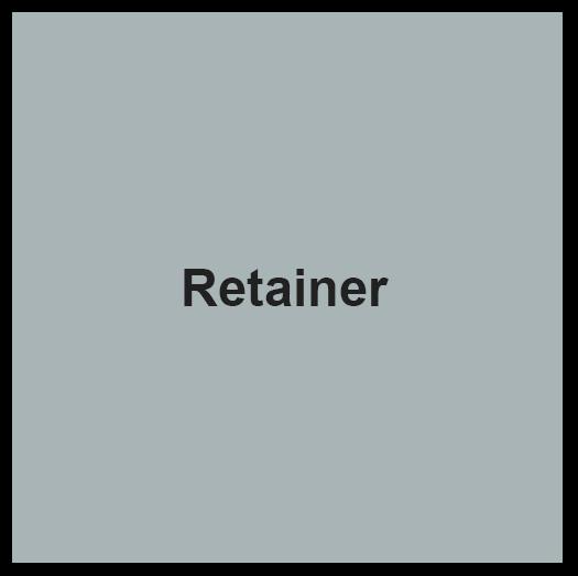 Retainer SV
