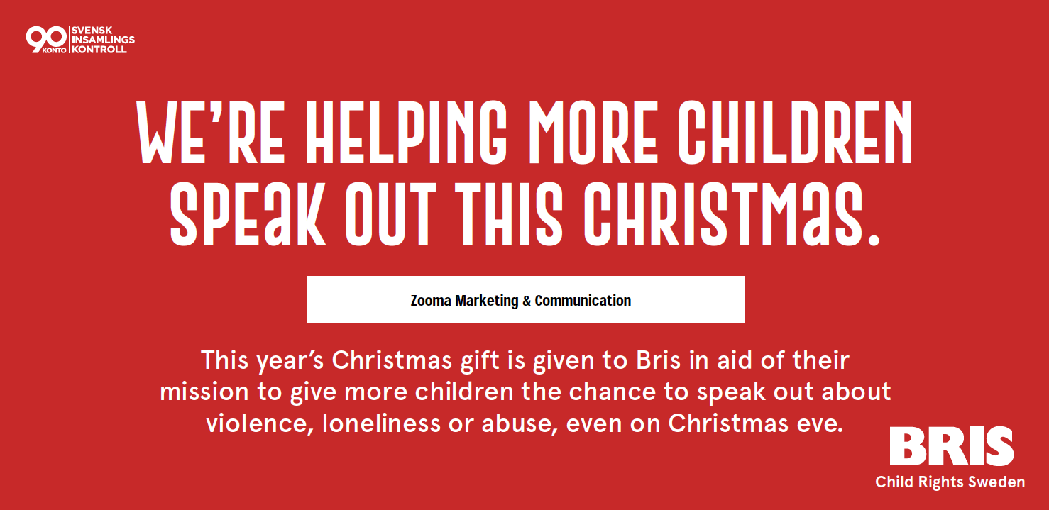 Skip Christmas gifts and support BRIS!