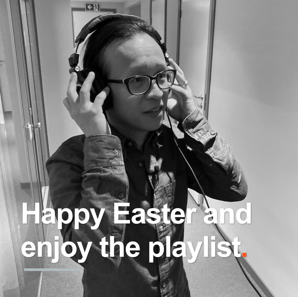 Happy Easter, and enjoy the playlist!