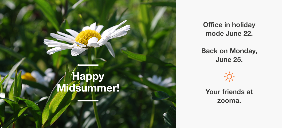 Wish you a happy Midsummer!