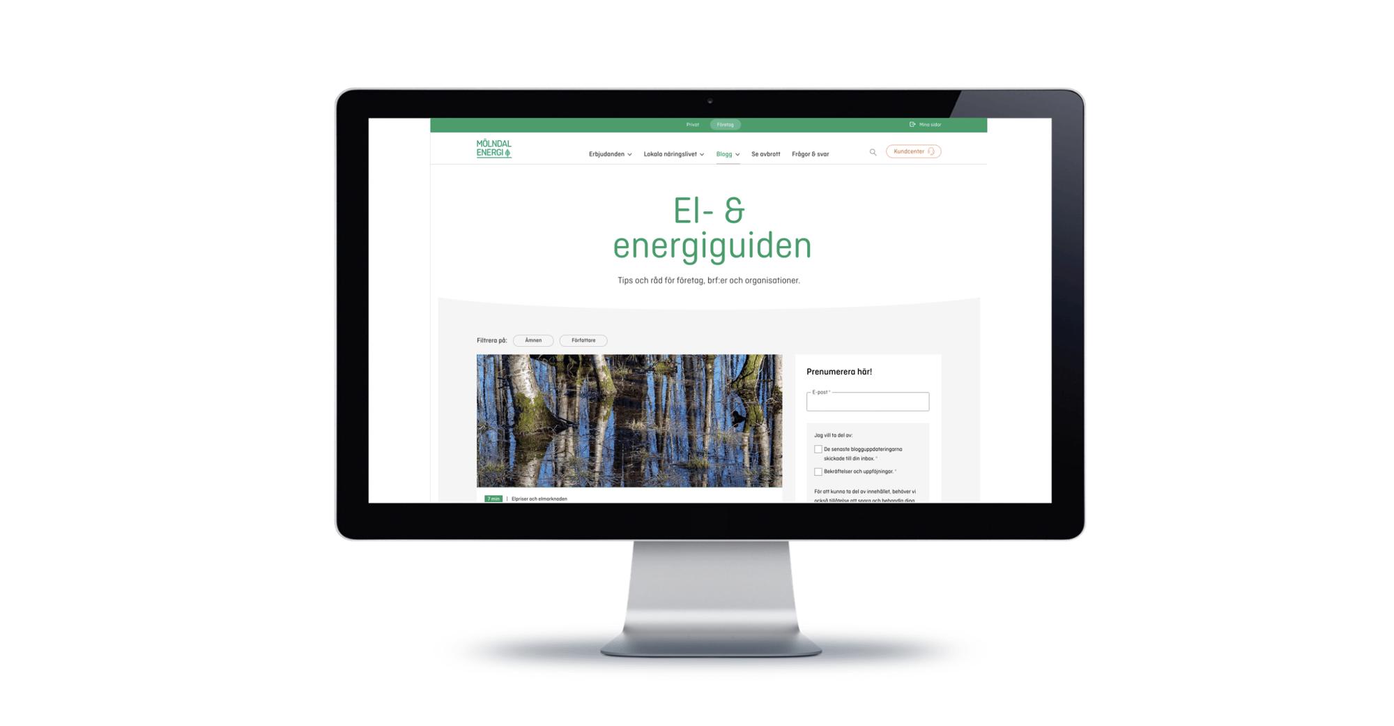 Congratulations to Sweden's best energy industry blog, Mölndal Energi!