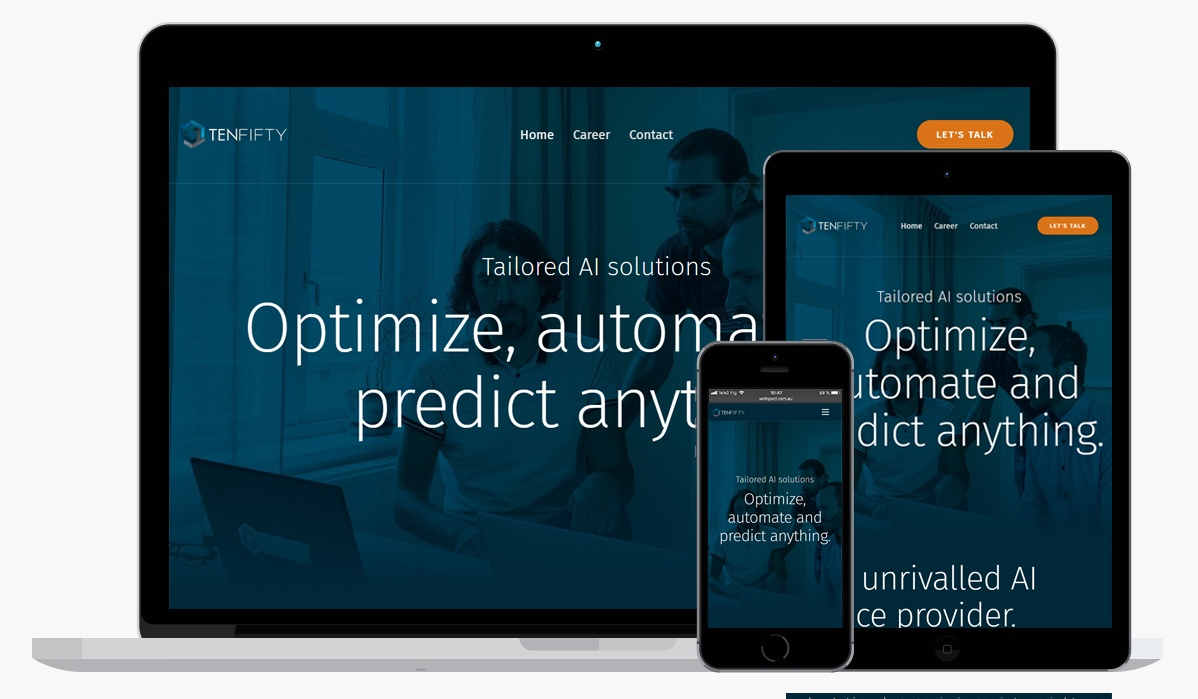 Tenfifty, a pioneer in the data science space, is now live with a new site!