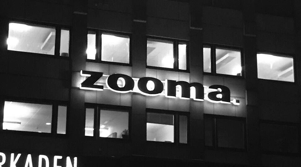 Why has Zooma created a corporate site?