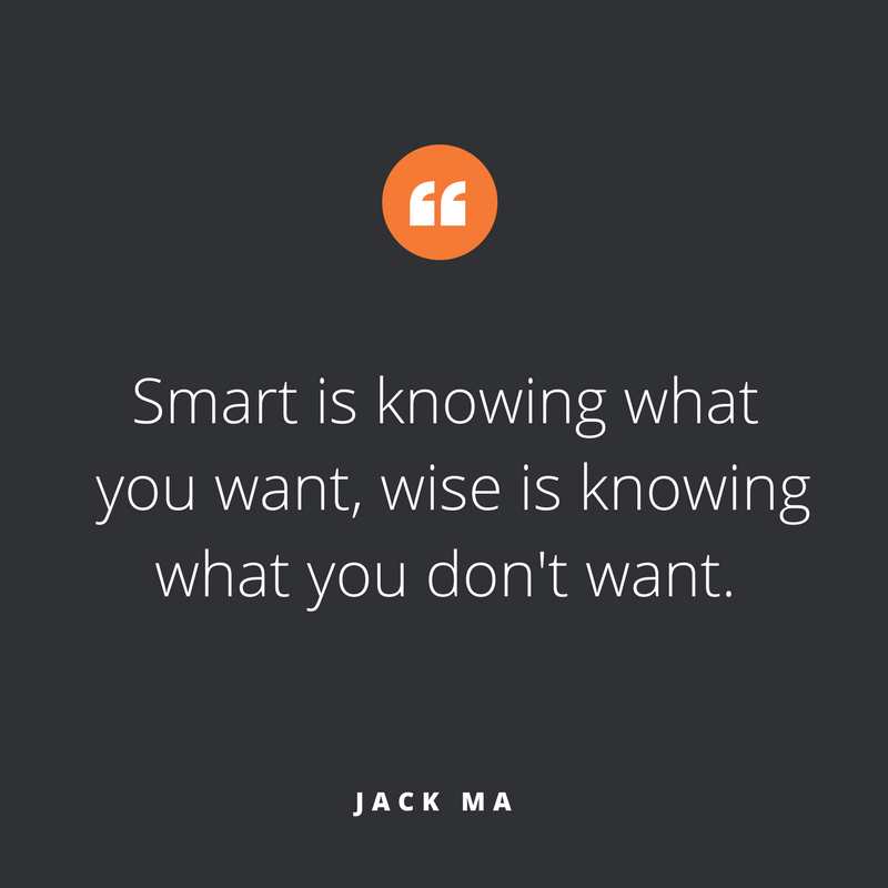 Quote of the week October 2017, by Jack Ma