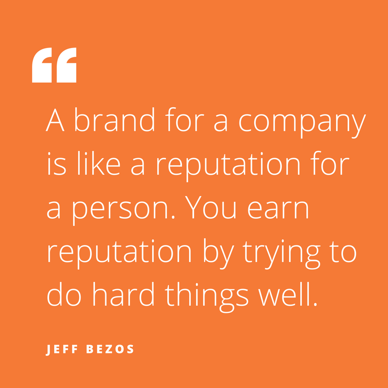 Quote of the week, byJeff Bezos