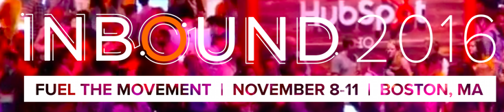 #INBOUND2016 is kicking off November 8th