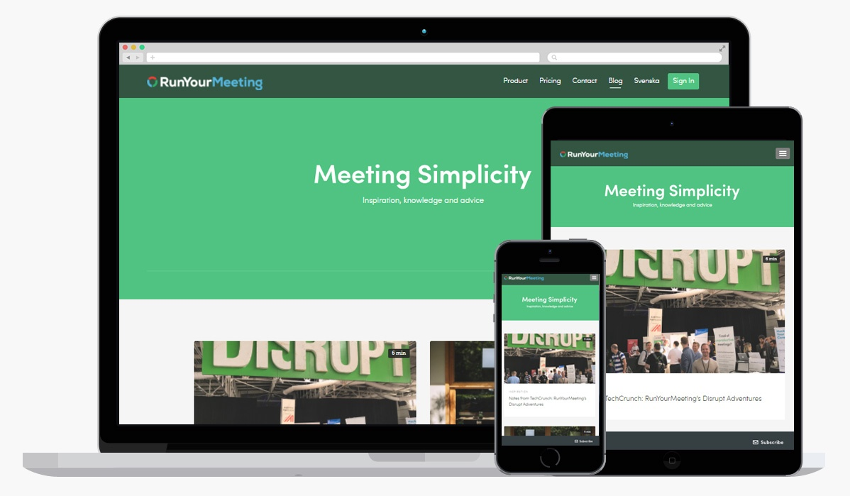 Do you know how to Run Your Meeting?