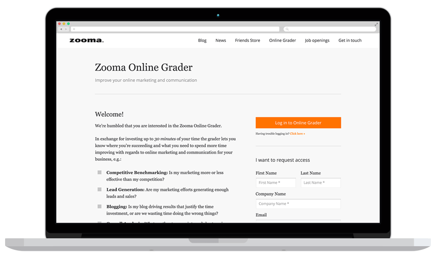 Zooma launches Online Grader