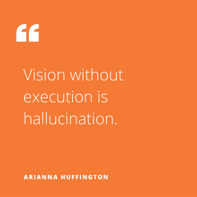 Quote of the week, by Arianna Huffington