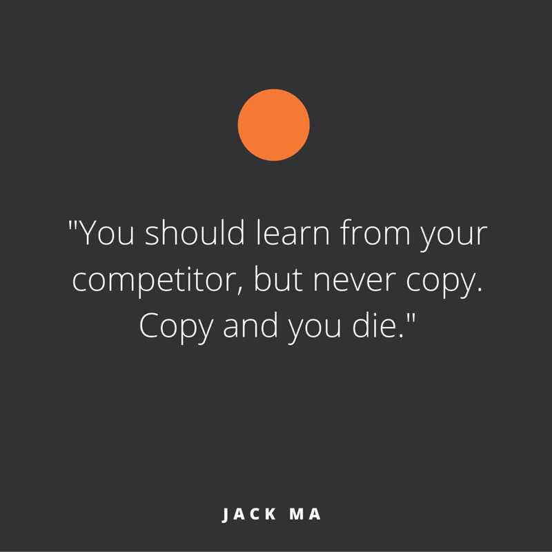 Quote of the week, by Jack Ma