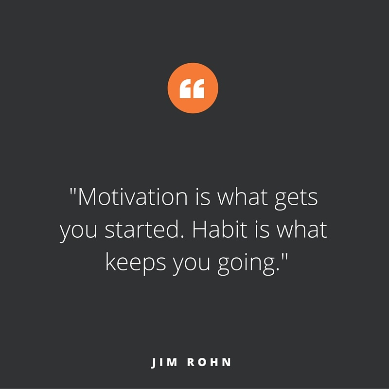 Quote of the week, by Jim Rohn