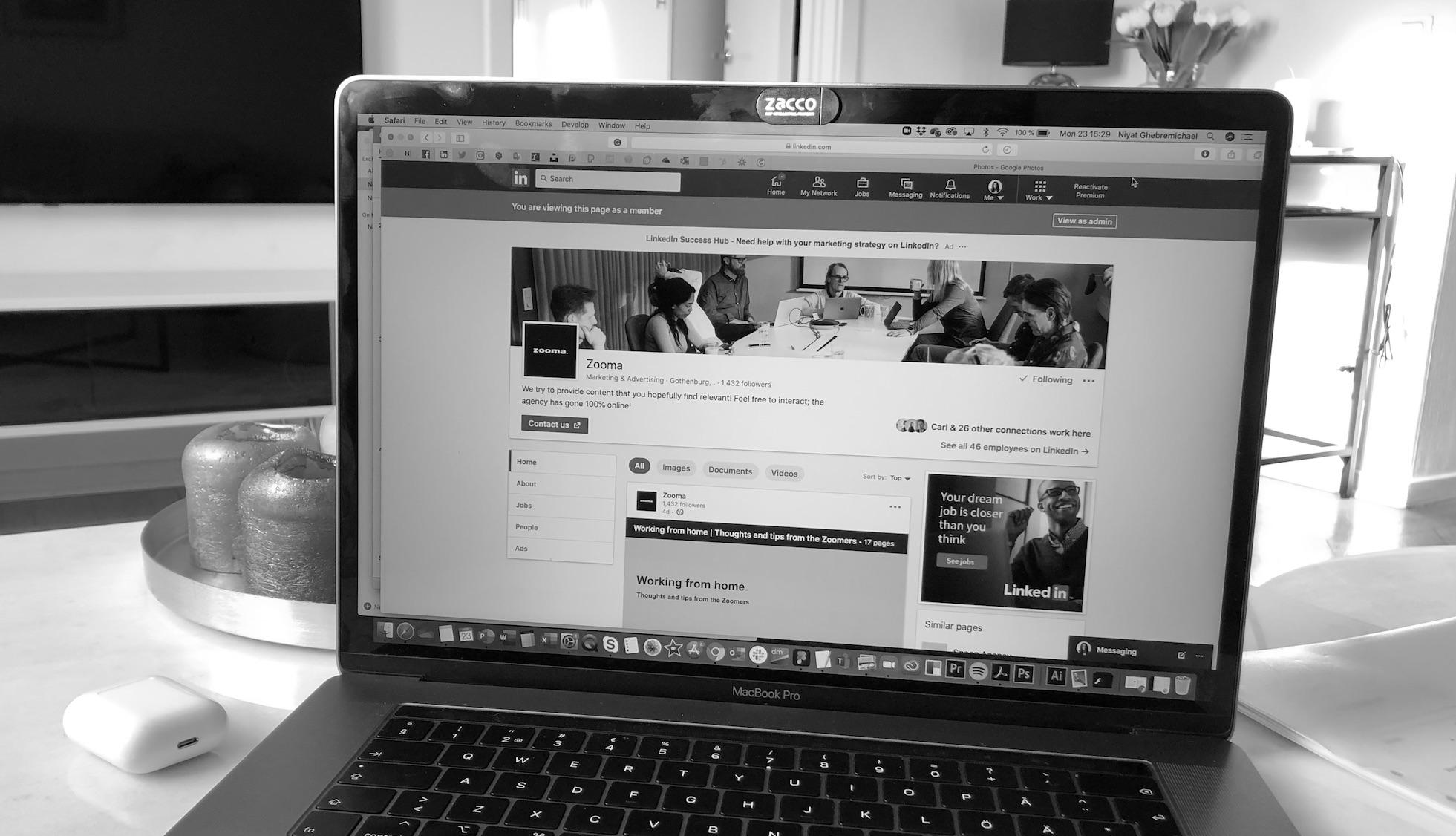 Zooma-Social-media-LinkedIn
